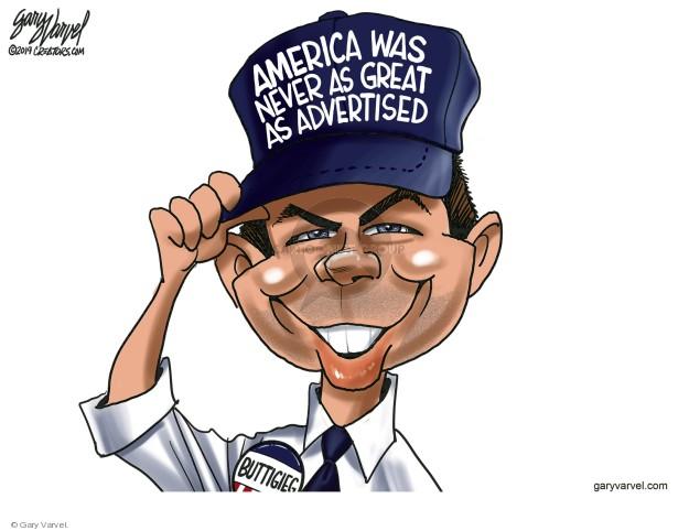 Cartoonist Gary Varvel  Gary Varvel's Editorial Cartoons 2019-05-08 America