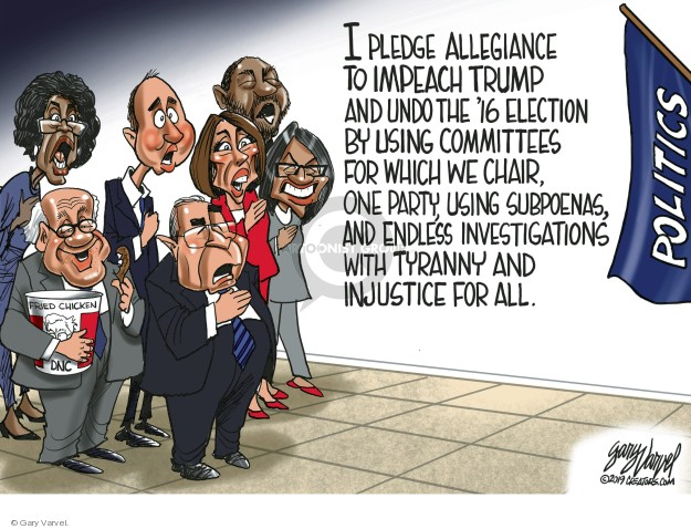 Cartoonist Gary Varvel  Gary Varvel's Editorial Cartoons 2019-05-09 political party