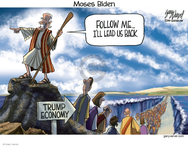 Gary Varvel  Gary Varvel's Editorial Cartoons 2019-05-10 Joe Biden