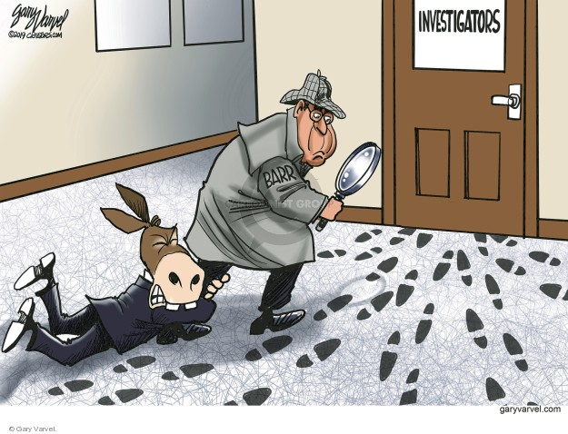 Gary Varvel  Gary Varvel's Editorial Cartoons 2019-05-13 William Barr