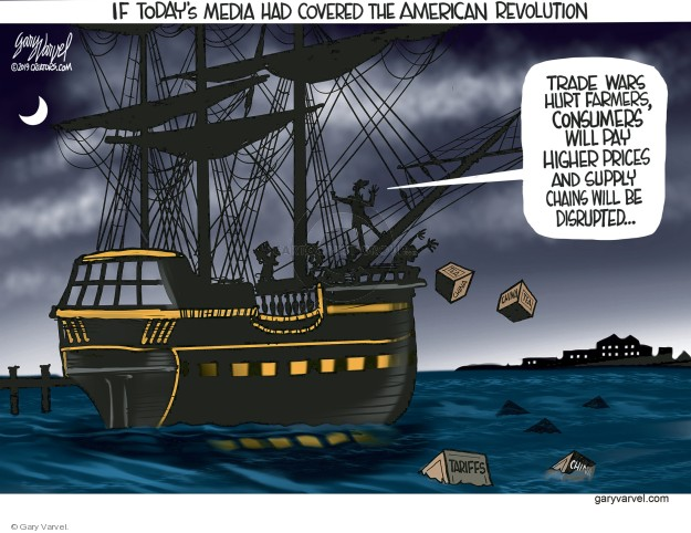 Gary Varvel  Gary Varvel's Editorial Cartoons 2019-05-21 media coverage