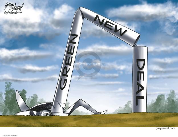 Cartoonist Gary Varvel  Gary Varvel's Editorial Cartoons 2019-05-31 wind energy