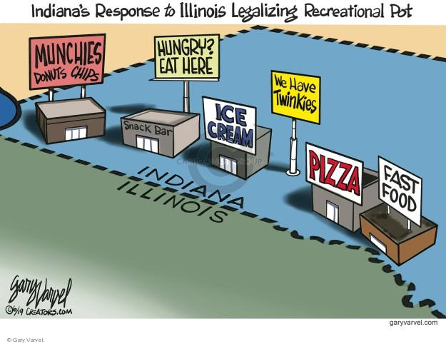 Cartoonist Gary Varvel  Gary Varvel's Editorial Cartoons 2019-06-14 state