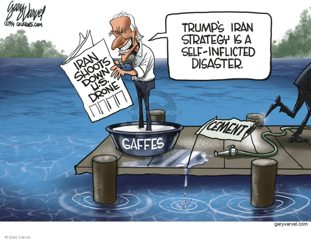Gary Varvel  Gary Varvel's Editorial Cartoons 2019-06-21 Joe Biden