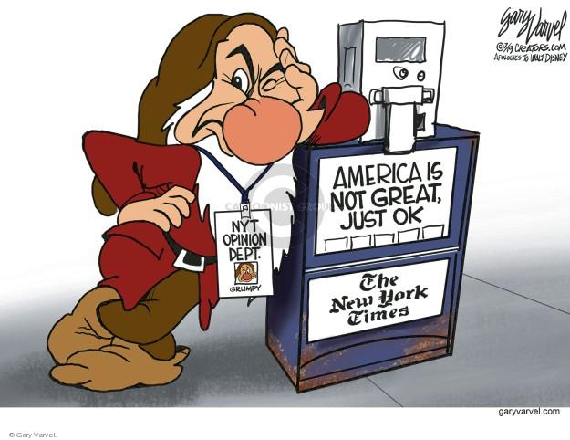 Gary Varvel  Gary Varvel's Editorial Cartoons 2019-07-04 media