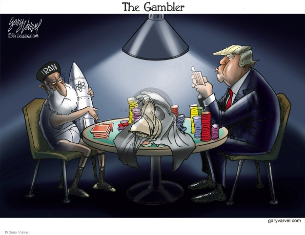 Cartoonist Gary Varvel  Gary Varvel's Editorial Cartoons 2019-07-11 nuclear weapon