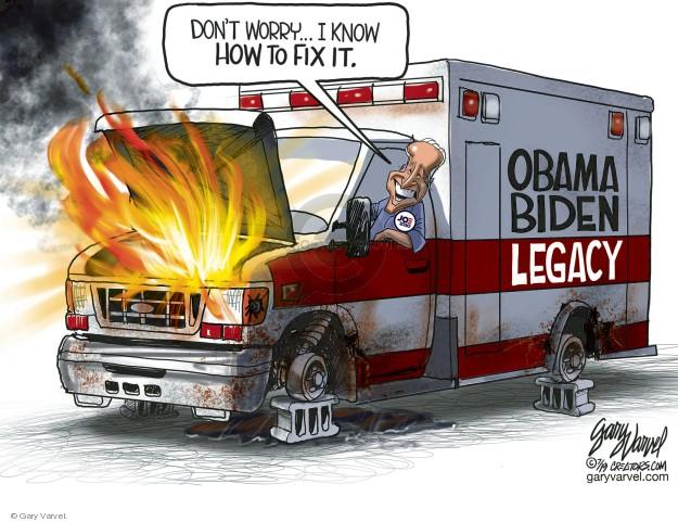 Cartoonist Gary Varvel  Gary Varvel's Editorial Cartoons 2019-07-24 Barack Obama
