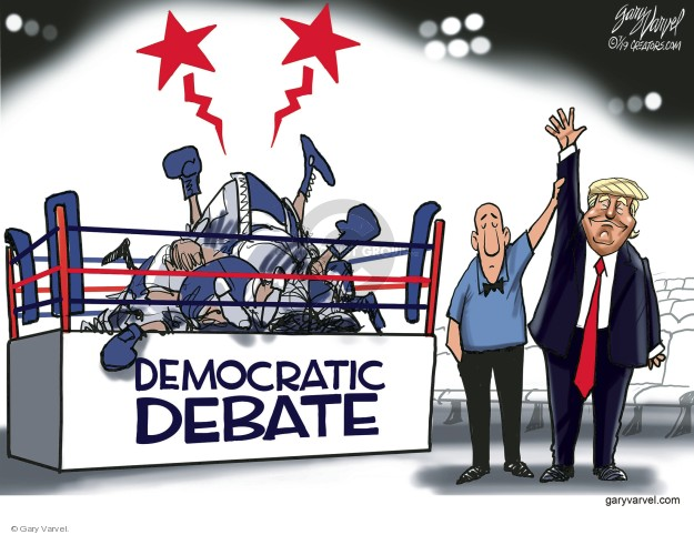 Gary Varvel  Gary Varvel's Editorial Cartoons 2019-07-31 election debate