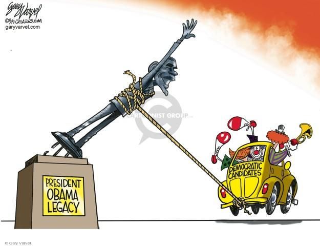 Cartoonist Gary Varvel  Gary Varvel's Editorial Cartoons 2019-08-02 Barack Obama