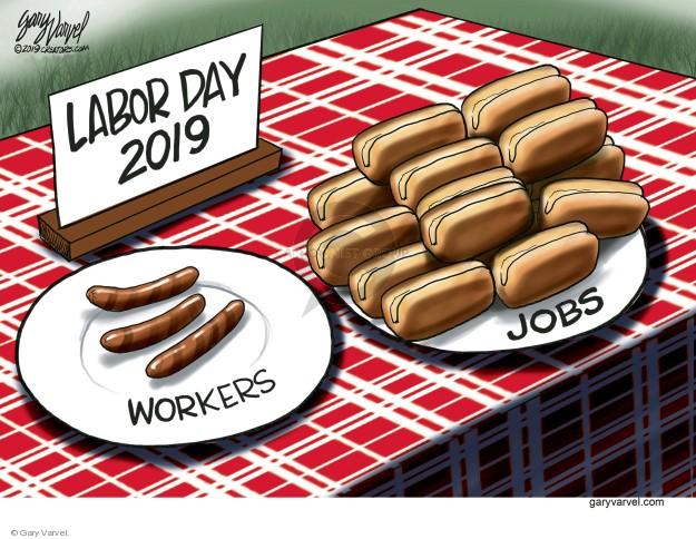Cartoonist Gary Varvel  Gary Varvel's Editorial Cartoons 2019-09-01 job