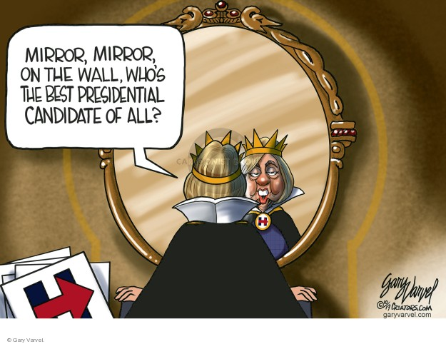 Gary Varvel  Gary Varvel's Editorial Cartoons 2019-10-09 2016 Election Hillary Clinton