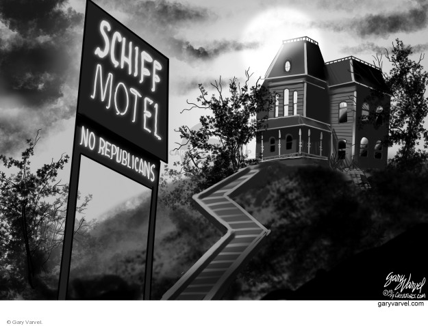 Schiff Motel. No Republicans.