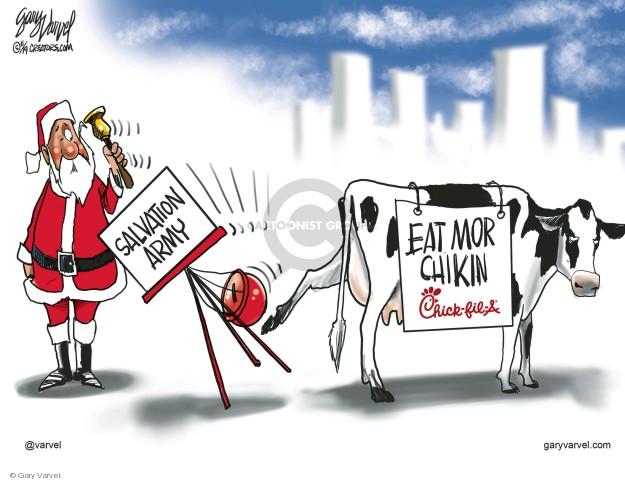 Gary Varvel  Gary Varvel's Editorial Cartoons 2019-11-25 Gary