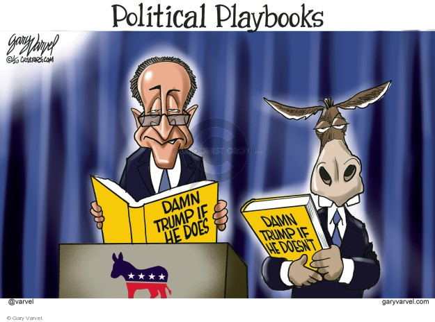 Cartoonist Gary Varvel  Gary Varvel's Editorial Cartoons 2020-01-07 political party