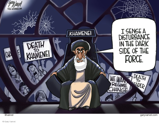 Gary Varvel  Gary Varvel's Editorial Cartoons 2020-01-16 Iran