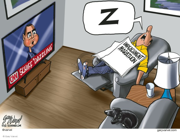 Cartoonist Gary Varvel  Gary Varvel's Editorial Cartoons 2020-01-23 administration