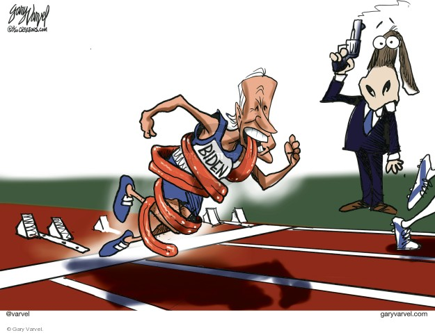 Gary Varvel  Gary Varvel's Editorial Cartoons 2020-02-11 2020 election