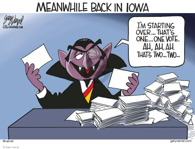 Gary Varvel  Gary Varvel's Editorial Cartoons 2020-02-12 primary