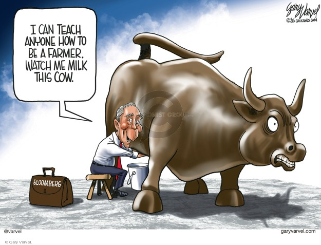 Cartoonist Gary Varvel  Gary Varvel's Editorial Cartoons 2020-02-18 2020 election