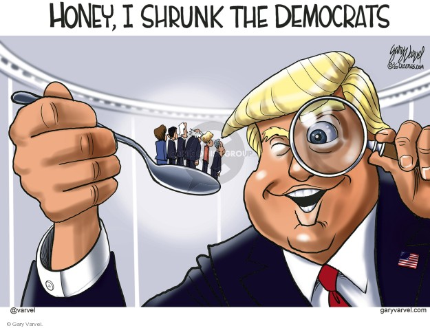 Cartoonist Gary Varvel  Gary Varvel's Editorial Cartoons 2020-02-20 2020 election