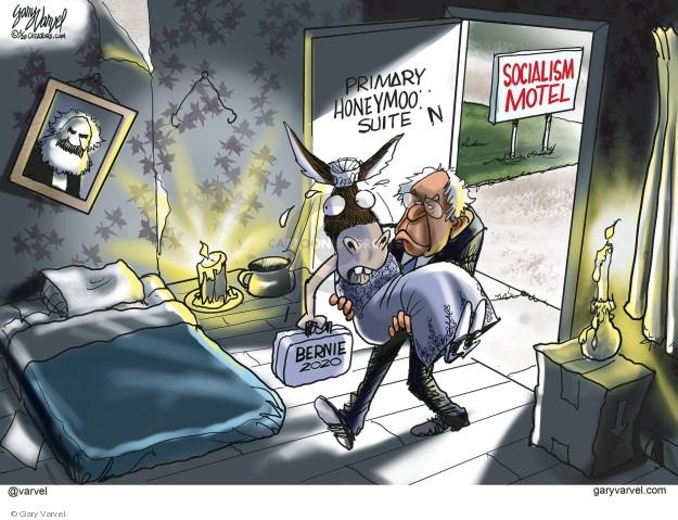 Cartoonist Gary Varvel  Gary Varvel's Editorial Cartoons 2020-02-27 2020 election