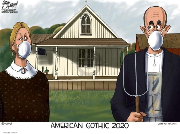 Cartoonist Gary Varvel  Gary Varvel's Editorial Cartoons 0000-00-00 social distancing
