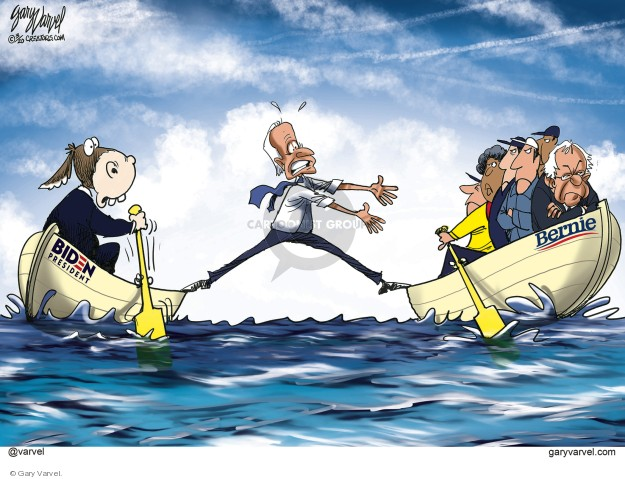 Cartoonist Gary Varvel  Gary Varvel's Editorial Cartoons 2020-03-19 2020 election