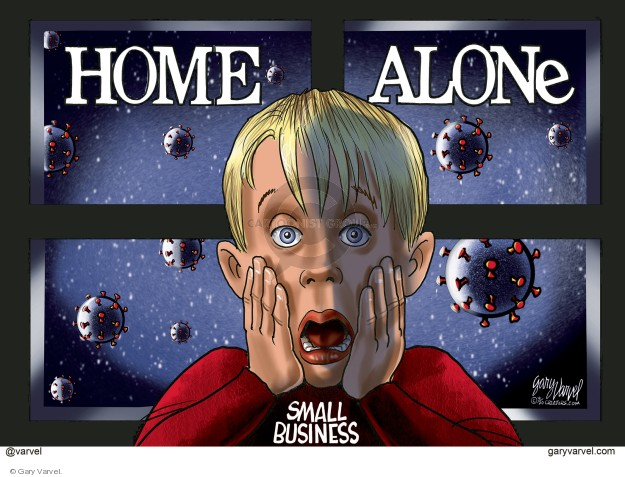 Home Alone. Small business.