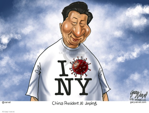 Cartoonist Gary Varvel  Gary Varvel's Editorial Cartoons 2020-04-01 president