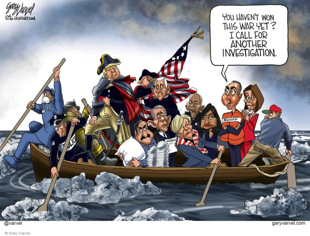 Gary Varvel  Gary Varvel's Editorial Cartoons 2020-04-03 investigation