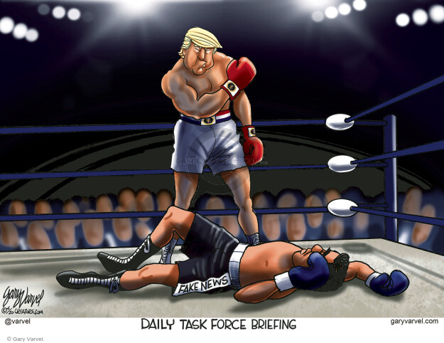 Gary Varvel  Gary Varvel's Editorial Cartoons 2020-04-14 Donald