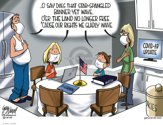 Cartoonist Gary Varvel  Gary Varvel's Editorial Cartoons 2020-05-02 coronavirus