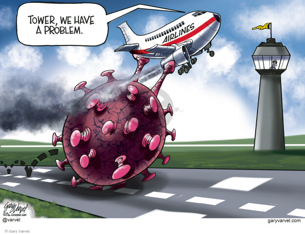 Cartoonist Gary Varvel  Gary Varvel's Editorial Cartoons 2020-05-07 coronavirus
