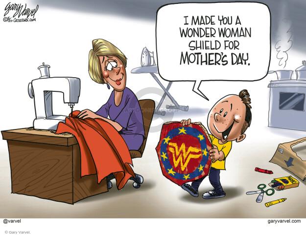 Cartoonist Gary Varvel  Gary Varvel's Editorial Cartoons 2020-05-08 editorial