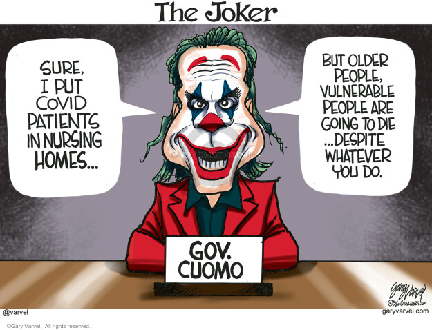 Cartoonist Gary Varvel  Gary Varvel's Editorial Cartoons 2020-05-19 coronavirus