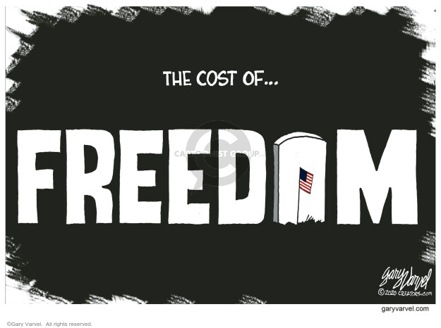 Gary Varvel  Gary Varvel's Editorial Cartoons 2020-05-24 Gary