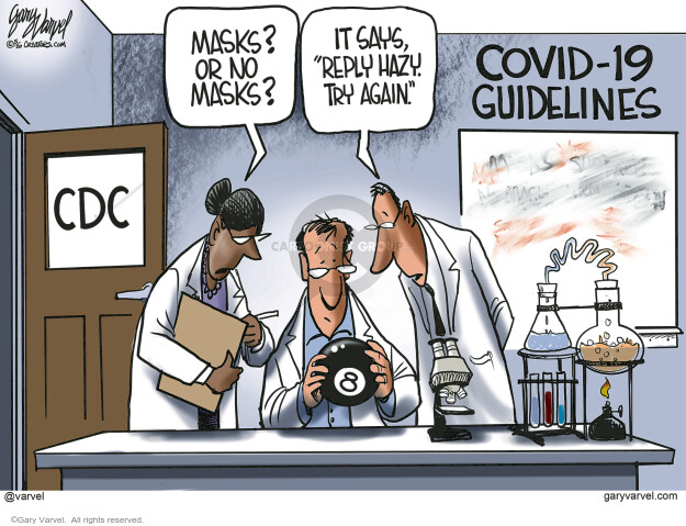 Cartoonist Gary Varvel  Gary Varvel's Editorial Cartoons 2020-05-28 coronavirus