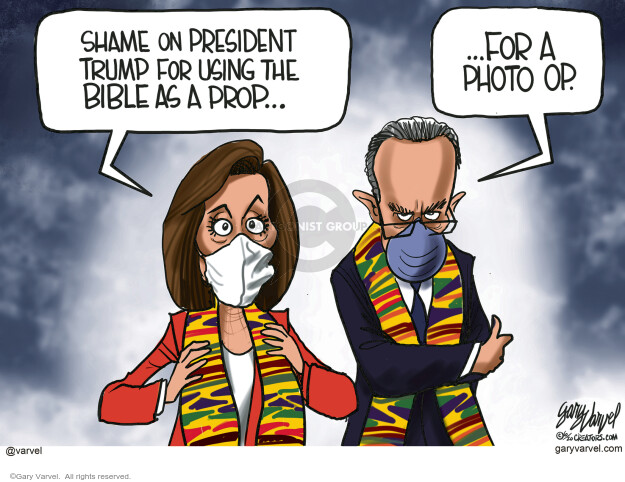 Gary Varvel  Gary Varvel's Editorial Cartoons 2020-06-10 Donald