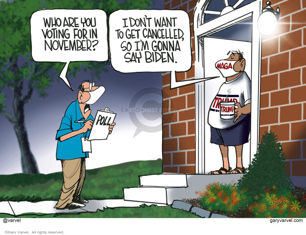 Gary Varvel  Gary Varvel's Editorial Cartoons 2020-07-30 republican politician