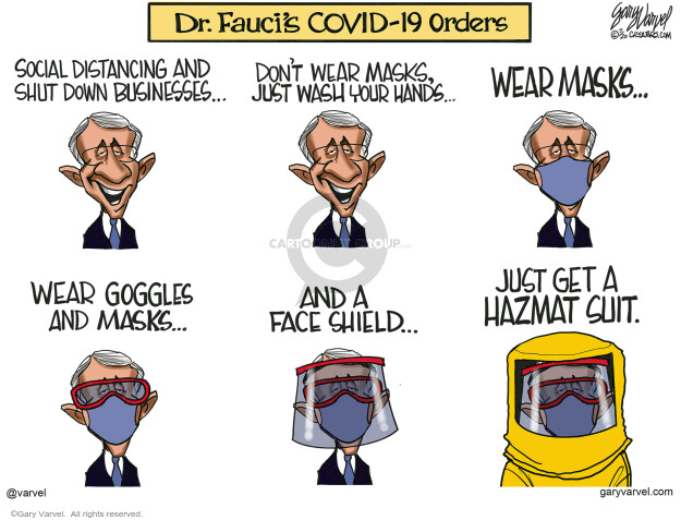 Gary Varvel  Gary Varvel's Editorial Cartoons 2020-07-31 pandemic