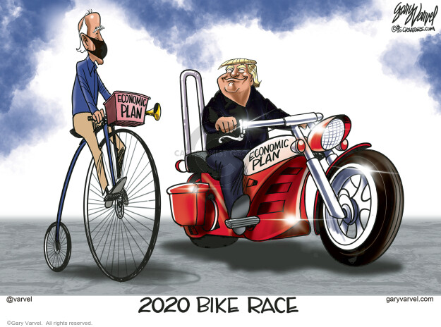 Gary Varvel  Gary Varvel's Editorial Cartoons 2020-08-13 2020 Election Joe Biden