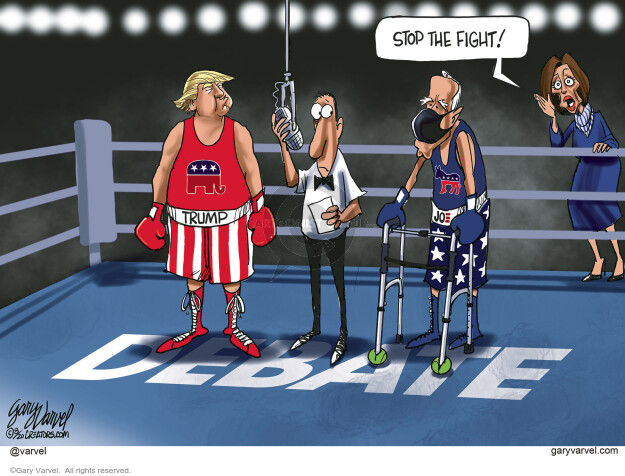 Gary Varvel  Gary Varvel's Editorial Cartoons 2020-08-28 republican politician