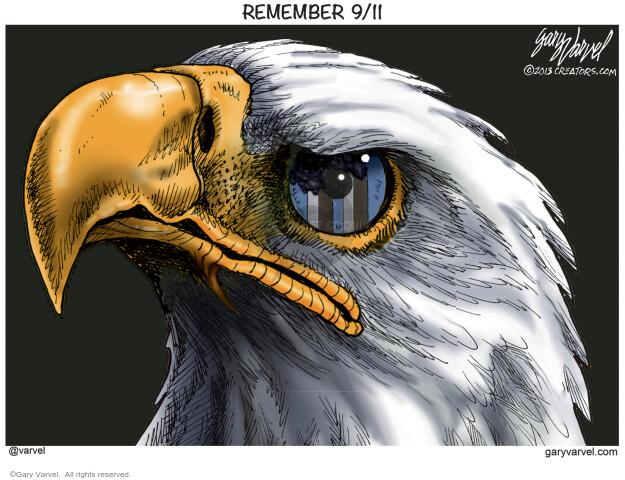 Gary Varvel  Gary Varvel's Editorial Cartoons 2020-09-10 September 11, 2001