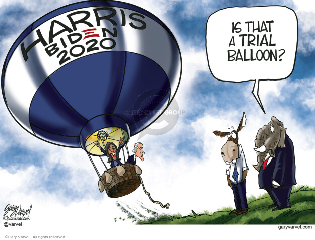 Gary Varvel  Gary Varvel's Editorial Cartoons 2020-09-16 2020 Election Joe Biden