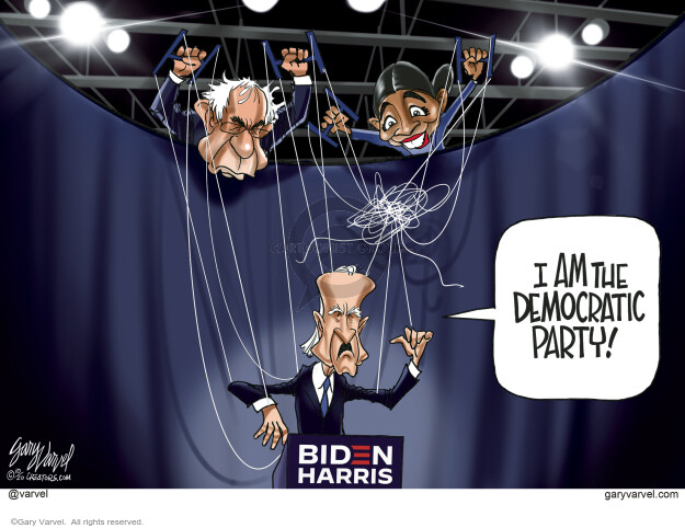 Gary Varvel  Gary Varvel's Editorial Cartoons 2020-10-05 political party