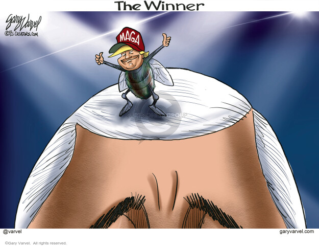 Gary Varvel  Gary Varvel's Editorial Cartoons 2020-10-08 politics