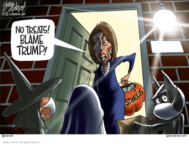 Gary Varvel  Gary Varvel's Editorial Cartoons 2020-10-21 pandemic