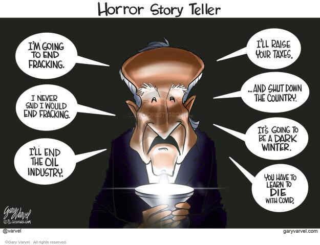 Gary Varvel  Gary Varvel's Editorial Cartoons 2020-10-30 democratic