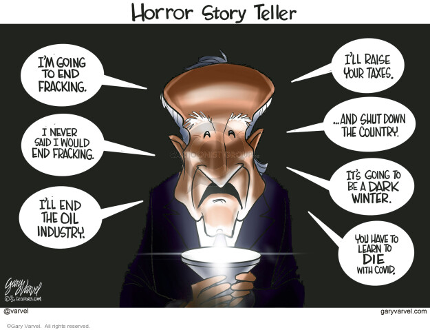Gary Varvel  Gary Varvel's Editorial Cartoons 2020-10-30 coronavirus