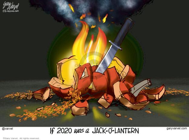 Gary Varvel  Gary Varvel's Editorial Cartoons 2020-10-31 year